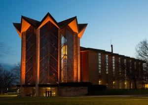 VU Chapel in the Evening